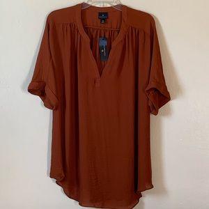 NWT Worthington xxl blouse